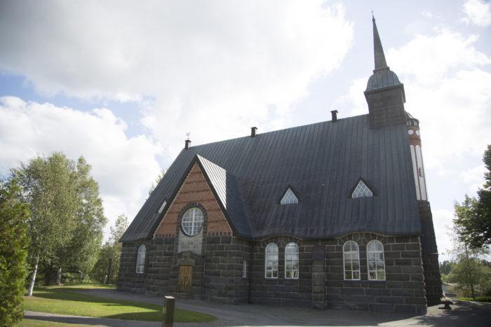 Pomarkku uusi kirkko